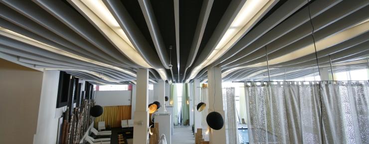 Akustikdecke im Wellnessbereich Royal Spa, Kitzbühl