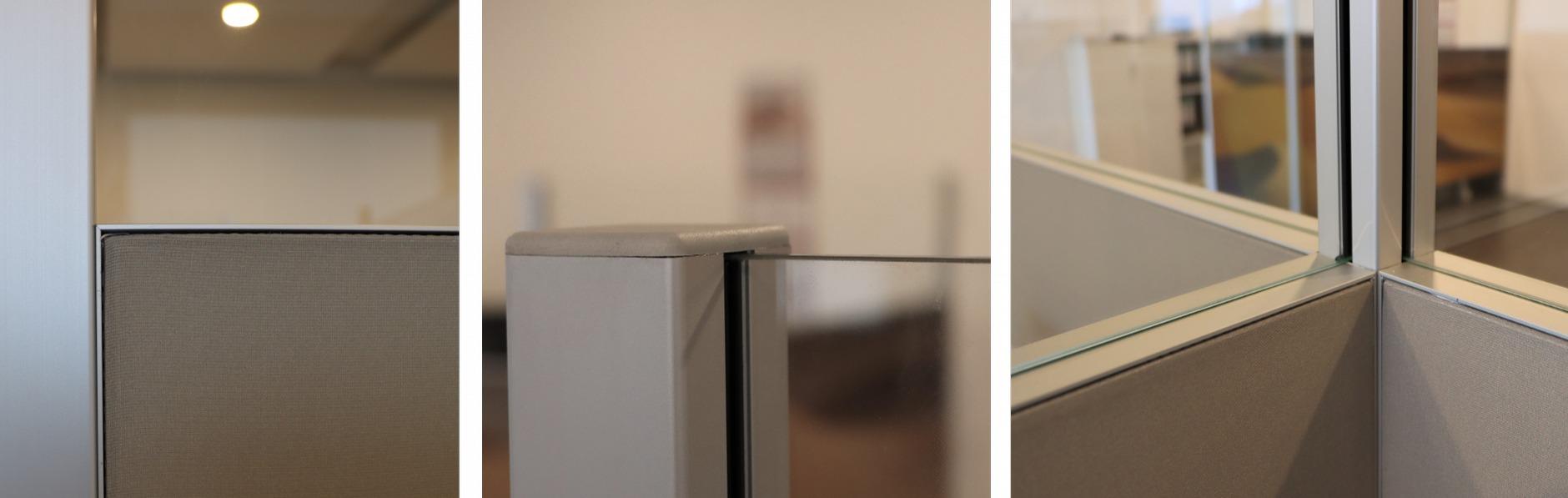 Detailfoto Akustik Abschirmung Büro